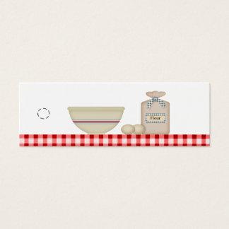 Country Baking Hang Tag