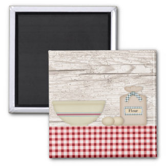 Country Baking Magnet