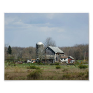 Country Barn 10x8 Photographic Print