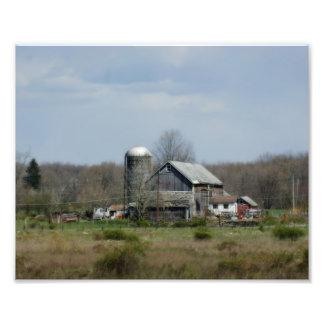 Country Barn 10x8 Photographic Print