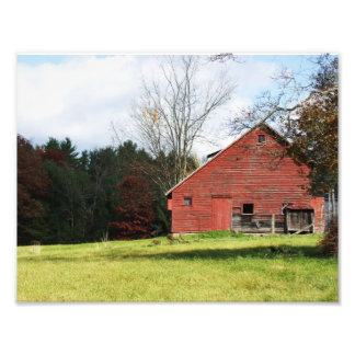 Country Barn 11 x 8 5 Photographic Print