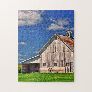 Country Barn Jigsaw Puzzle