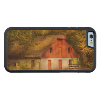 Country - Barn - Out to pasture Carved Maple iPhone 6 Bumper Case
