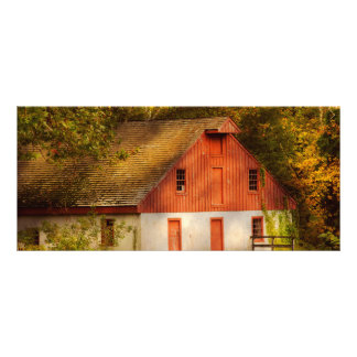 Country - Barn - Out to pasture Full Color Rack Card