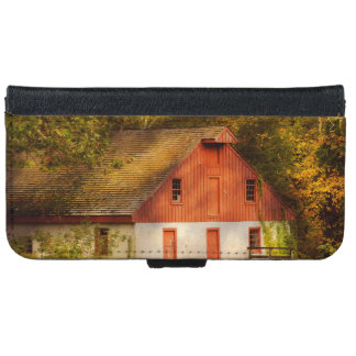 Country - Barn - Out to pasture iPhone 6 Wallet Case