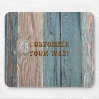 Country Barnwood Colors Mousepad