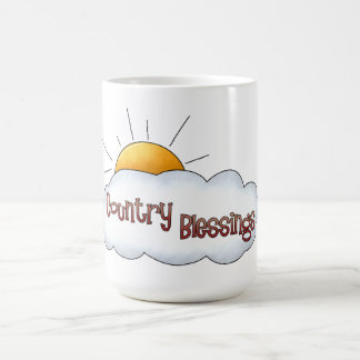 Country Blessing Classic White Mug
