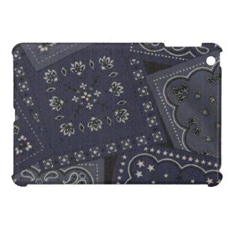 Country Blue Bandana iPad Mini Glossy Finish Case Cover For The iPad Mini