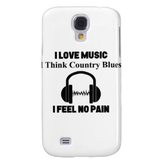Country Blues Galaxy S4 Cases
