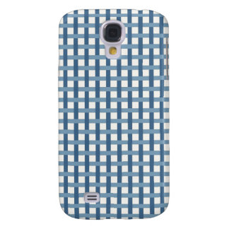Country Blues Weave Samsung Galaxy S4 Cases