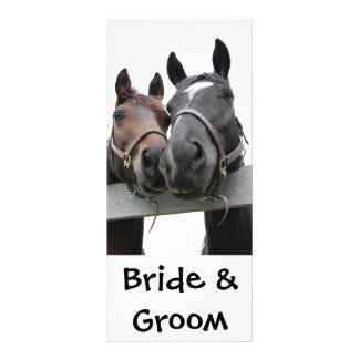 Country Bride and Groom Rack Cards