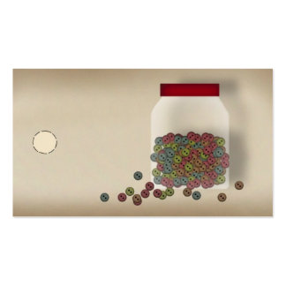 Country Buttons Hang Tag Pack Of Standard Business Cards