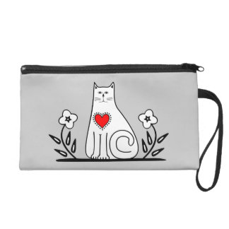 Country Cat Wristlet Clutch