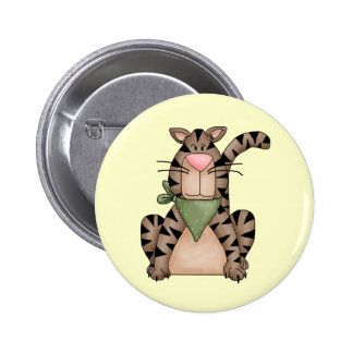 Country Cat Button