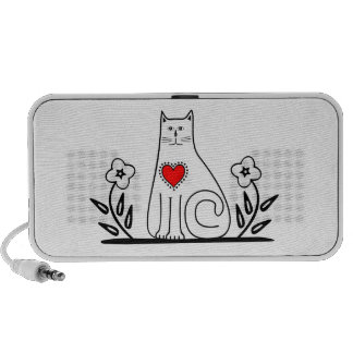 Country Cat Laptop Speaker