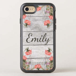 Country Chic Watercolor Floral OtterBox Symmetry iPhone 8/7 Case