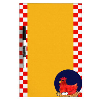 Country Chicken Dry-Erase Boards