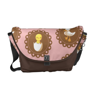 Country Chickens - Pink Commuter Bag