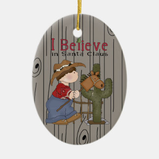 Country Christmas Lil' Cowpoke Ornament