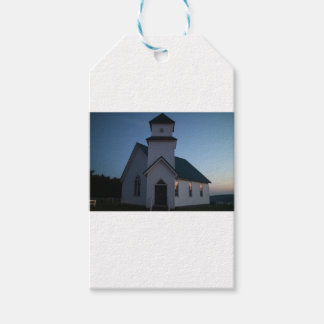 Country Church Gift Tags