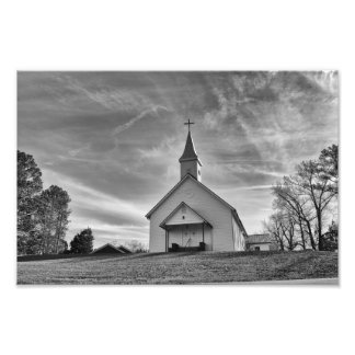 Country Church Photo Print