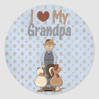 Country Collection I Love my Grandpa Stickers