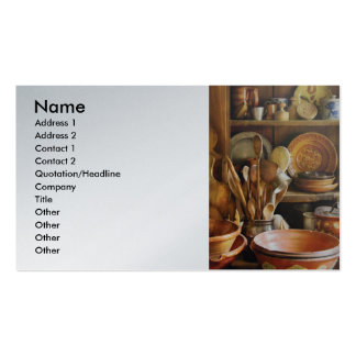 Country Cook - Remembering Momma Pack Of Standard Business Cards
