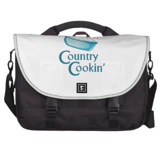 Country Cooking Laptop Commuter Bag