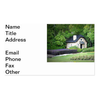 Country Cottage Business Card Template