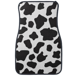 Country Cow Pattern Car Mat