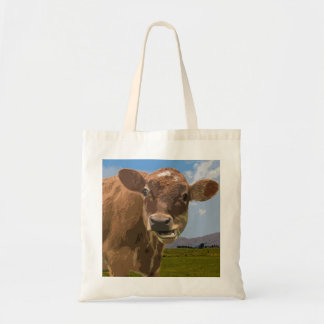 Country Cow Budget Tote Bag