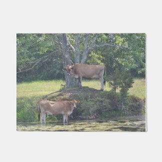 Country Cows Doormat