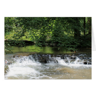 Country Creek Greeting Card