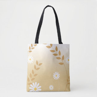 Country Daisies tote bag