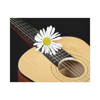 Country Daisy Gallery Wrap Canvas
