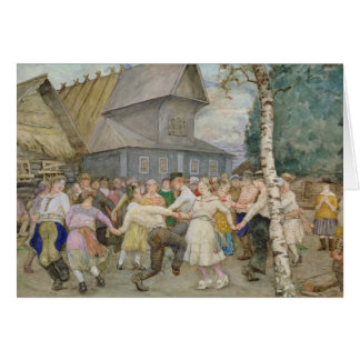 Country Dance, 1917-22 Card
