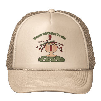 Country Doll 9th Birthday Gifts Cap