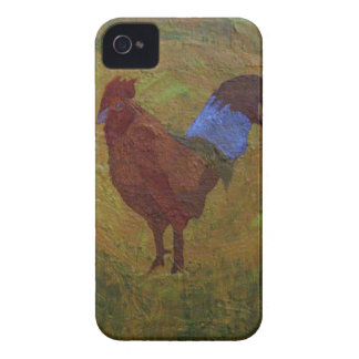 Country Farm Chicken Case-Mate iPhone 4 Cases
