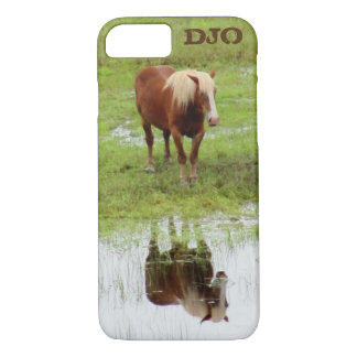 Country Farm Horse Reflection iPhone 7 Case