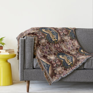 Country Feel Throw Blanket
