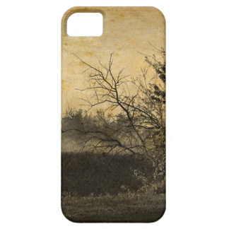Country Field landscape Rustic Winter Trees Case For The iPhone 5