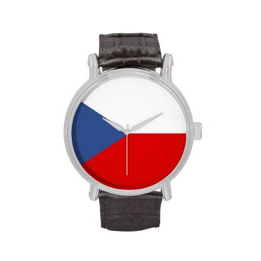 country flag czech republic watch