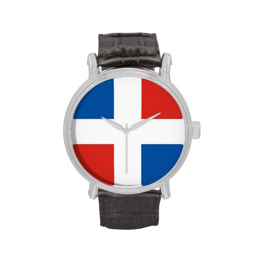 country flag dominican republic watch