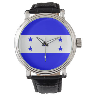 country flag honduras wristwatch