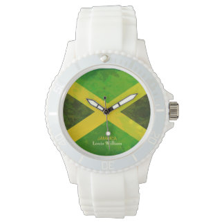 country flag jamaica rasta name watch