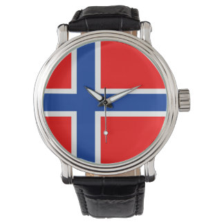 country flag norway norwegian watch
