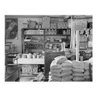 Country General Store, 1936 Postcard
