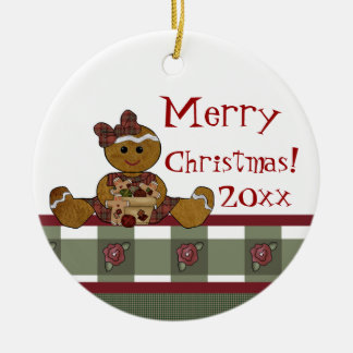 Country Gingerbread Ornament
