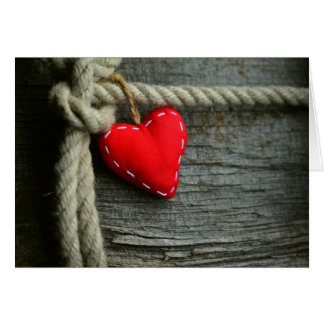 Country Heart Notecard