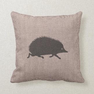 Country Home Happy Farmhouse Hedgehog Cushion